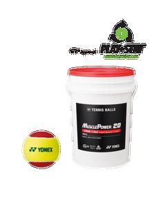 MUSCLE POWER 20 Tennis Balls